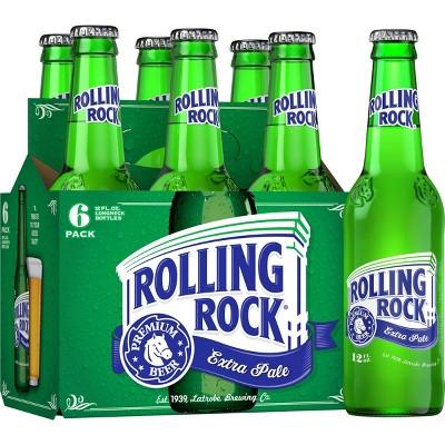 Rolling Rock Extra Pale Beer - 6pk/12 fl oz Bottles