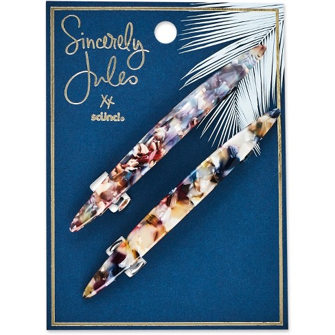 Sincerely Jules by Scnci Stone Barrettes - 2pk - image 1 of 2