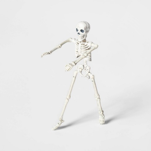 Mini Posable Skeleton Decorative Halloween Prop - Hyde & EEK! Boutique™ - image 1 of 1
