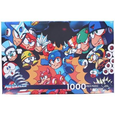 Icon Heroes Mega Man 1000 Piece Jigsaw Puzzle