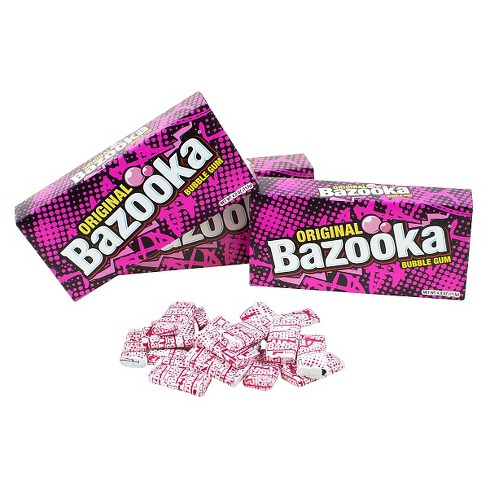 Bazooka Original Bubble Gum Party Box - 4oz/12ct - image 1 of 1