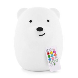 Lumipets LED Kids Night Light Lamp with Remote