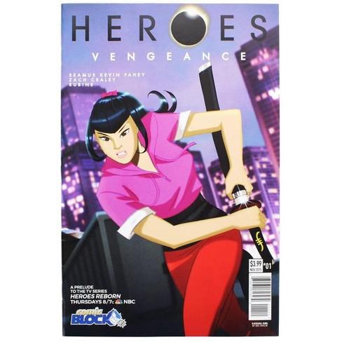 Nerd Block Heroes Vengeance #1 (Comic Block Exclusive Cover) - image 1 of 2