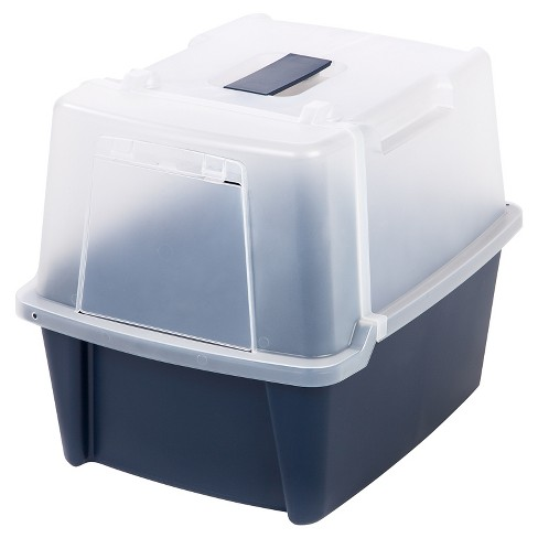 IRIS Split-lid Hooded Litter Box - image 1 of 6