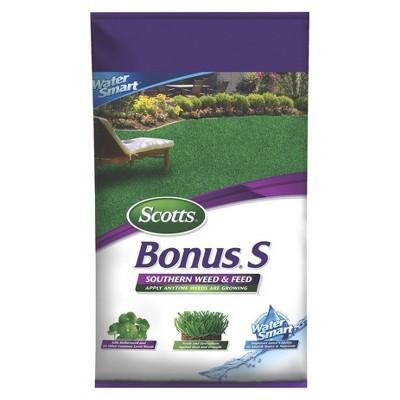 Scotts 5000 sq ft Turf Builder Bonus Southern Weed & Feed Fertilizer
