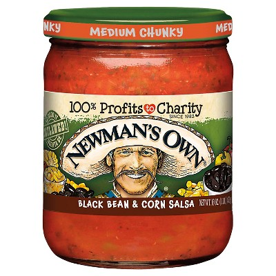 Newman's Own Black Bean & Corn Salsa