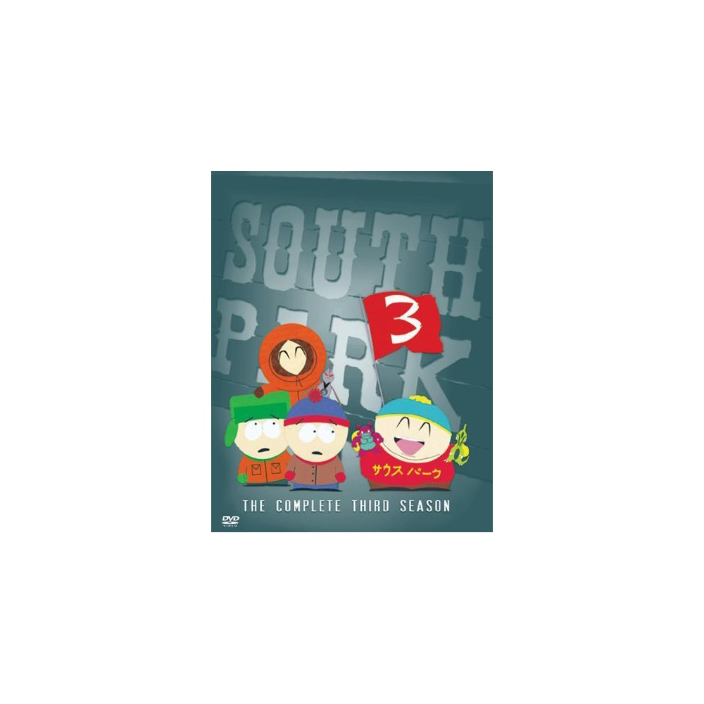South Park: The Complete Third Season (3 Discs) (DVD) Buy