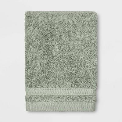 Performance Washcloth Dark Sage Green - Threshold™