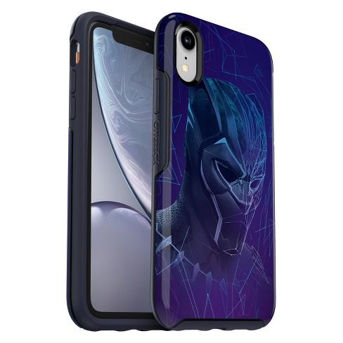 official photos dc312 36c1c OtterBox Apple iPhone XR Marvel Symmetry Case - Black Panther