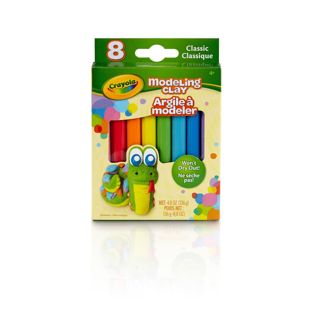 Image of Crayola 8pc Classic Modeling Clay, Assorted Colors