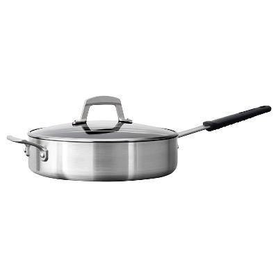 Tramontina Professional 5 5 Quart Covered Deep Saute Pan