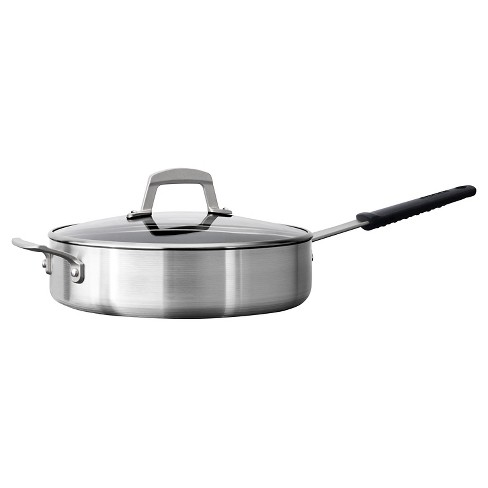 Tramontina Professional 5.5 Quart Covered Deep Saute Pan - image 1 of 5
