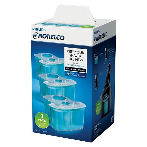 Philips Norelco Smartclean 3pk Replacement Cartridge - JC303/52 - image 1 of 5