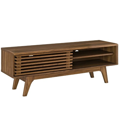 Render TV Stand Walnut - Modway - image 1 of 4
