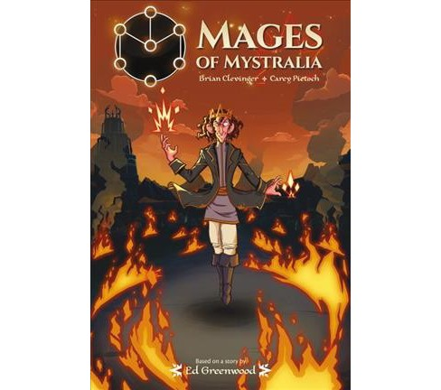 Mages of Mystralia (Paperback) (Ed Greenwood & Brian Clevinger) - image 1 of 1