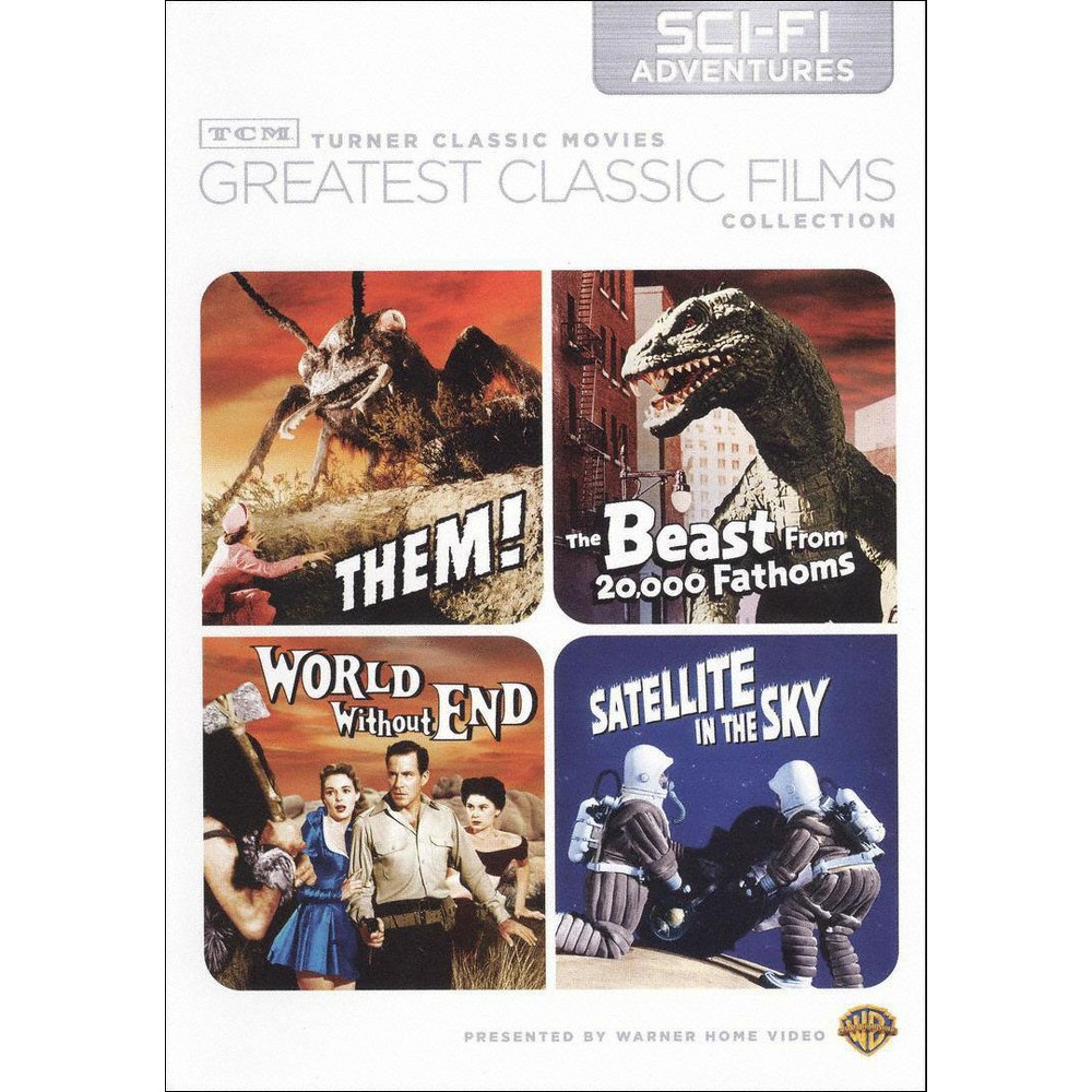 Tcm Greatest Classic Films Collection: Sci-Fi Adventures [2 Discs]