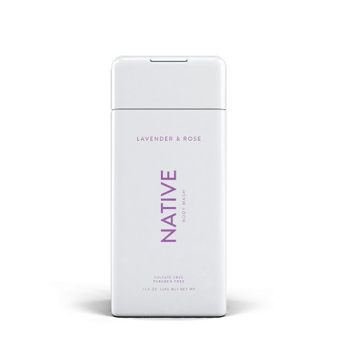 Native Lavender & Rose Body Wash - 11.5oz - image 1 of 2