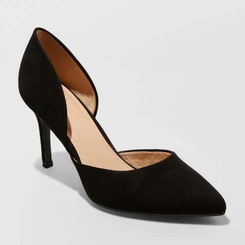 Women's Lacey D'orsay Heel Pumps - A New Day™ - image 1 of 3