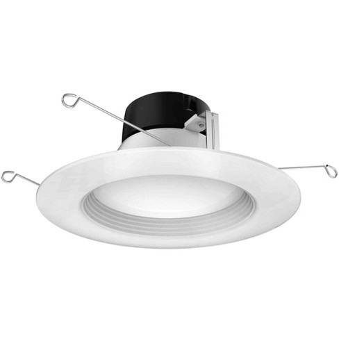 """Satco Lighting S29725 3000K LED Integrated Recessed Fixture 5"""" Baffle Recessed Trim - image 1 of 1"""
