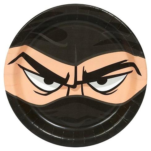 8ct Ninja Warrior Dessert Plate - image 1 of 1