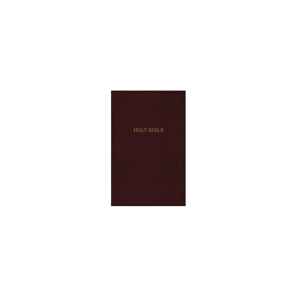 Holy Bible : King James Version, Reference, Super Giant Print, Imitation Leather, Burgundy, Red Letter
