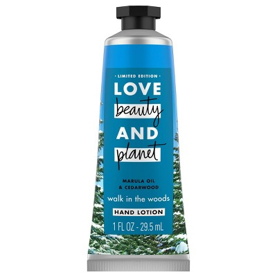 Love Beauty and Planet Marula Oil and Cedar Wood Hand Lotion - 1 fl oz