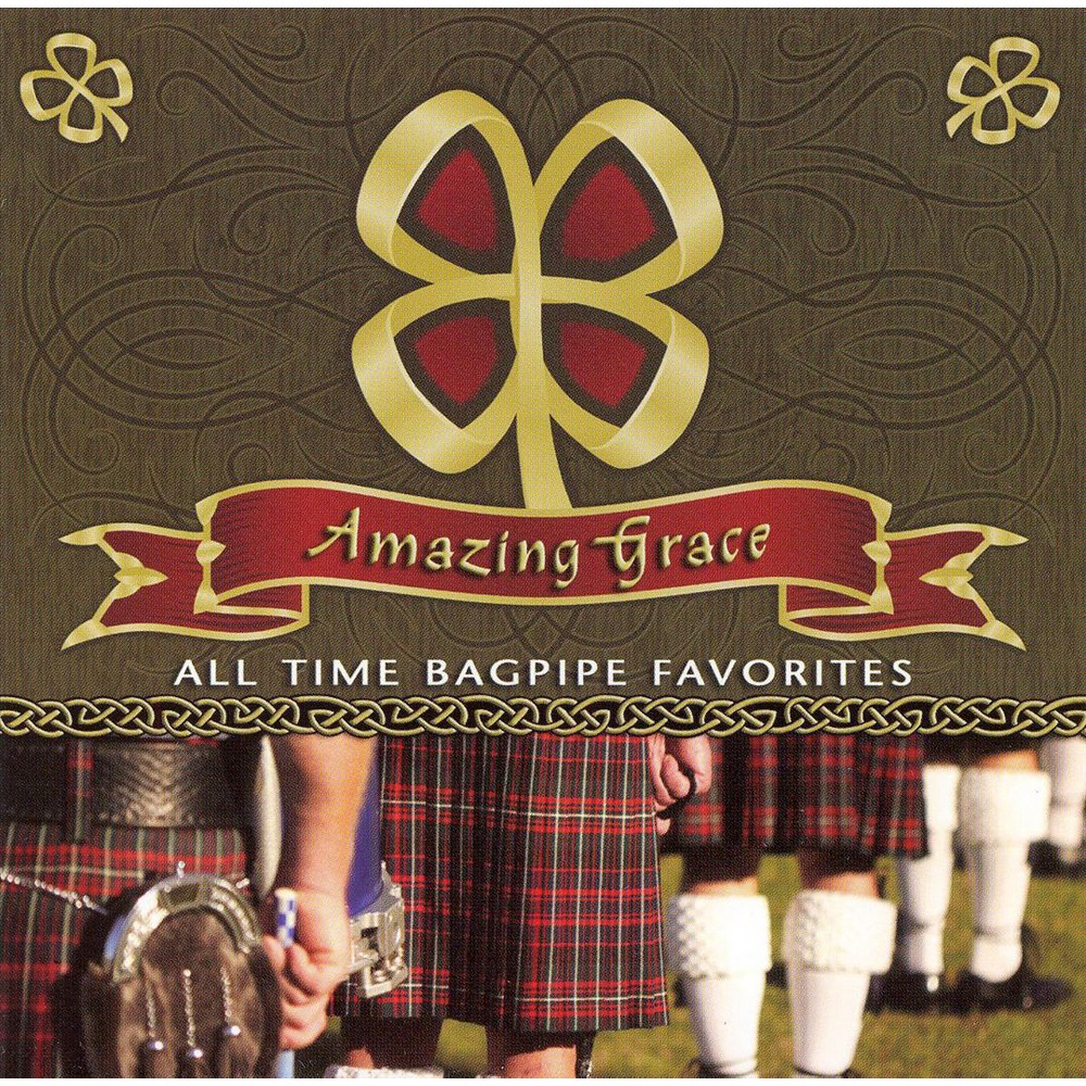 Scottish National Pi - Amazing Grace:All Time Bagpipe Favori (CD)
