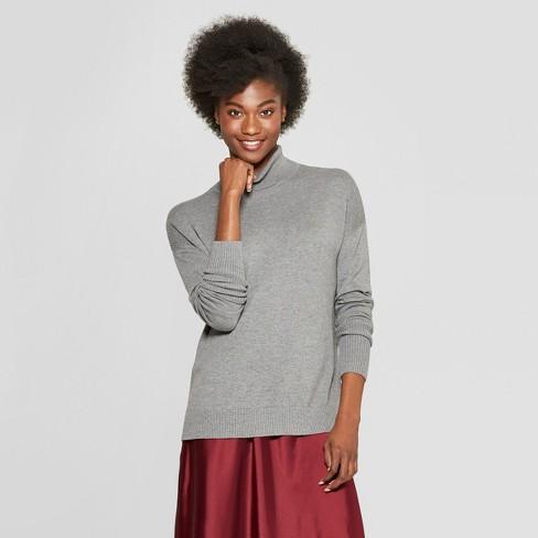 03b42e35aaa Women s Turtleneck Sweater - A New Day™   Target