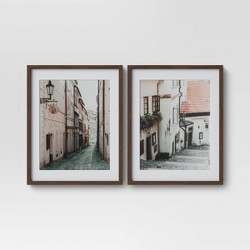 "(Set of 2) 16"" x 20"" City Photography Framed Print - Threshold™"