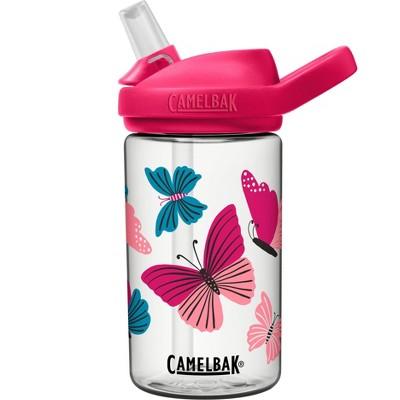 CamelBak Eddy+ 14oz Kids' Tritan Renew Water Bottle - Butterflies