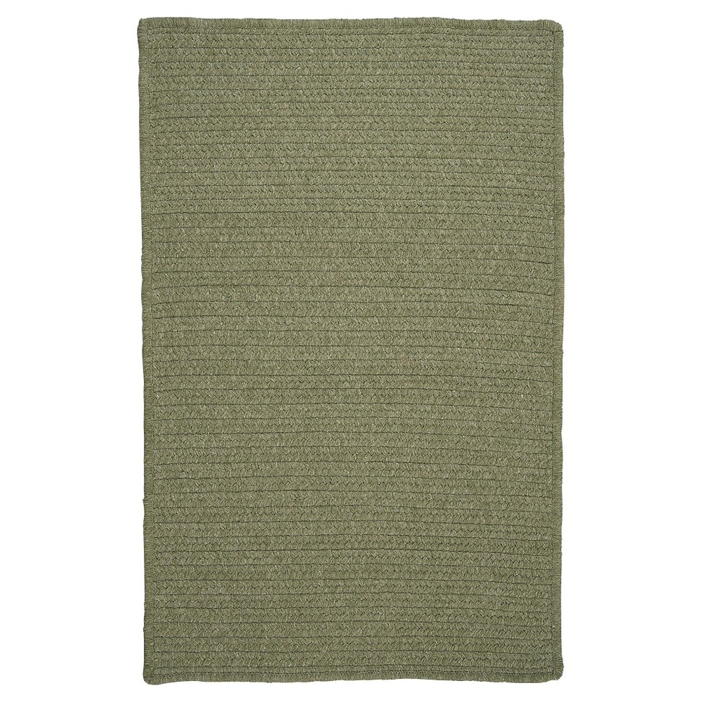 Westminster Wool Blend Braided Area Rug - Palm - (7'x9') - Colonial Mills