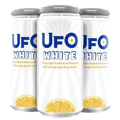 UFO White Belgian White Beer - 4pk/16 fl oz Cans