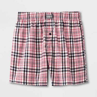 Men's Plaid Woven Boxer - Goodfellow & Co™
