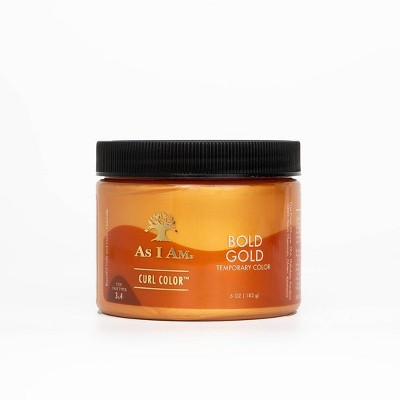 As I Am Curl Color - Bold Gold - 6oz