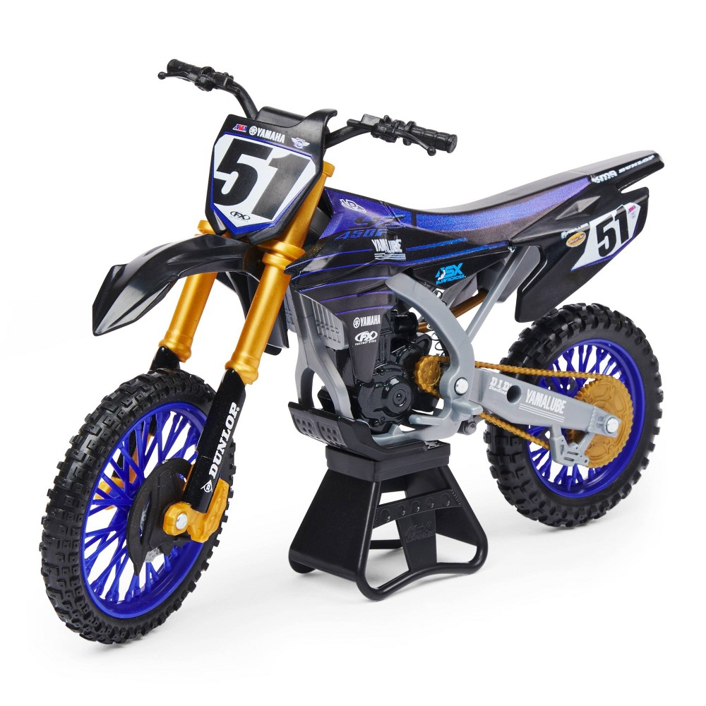 Supercross 1 10 Scale Die Cast Collector Motorcycle Justin Barcia