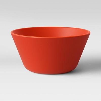 7oz 4pk Plastic Mini Bowls Red - Room Essentials™