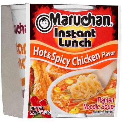 Maruchan Instant Lunch Hot & Spicy Chicken Flavor 2.25oz