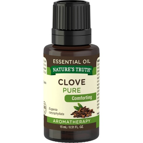 Nature's Truth Comforting Clove Essential Oil - 0.51 fl oz - image 1 of 4