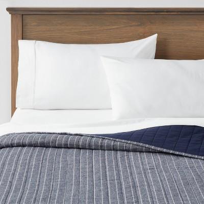 Flannel Stripe Quilt - Threshold™
