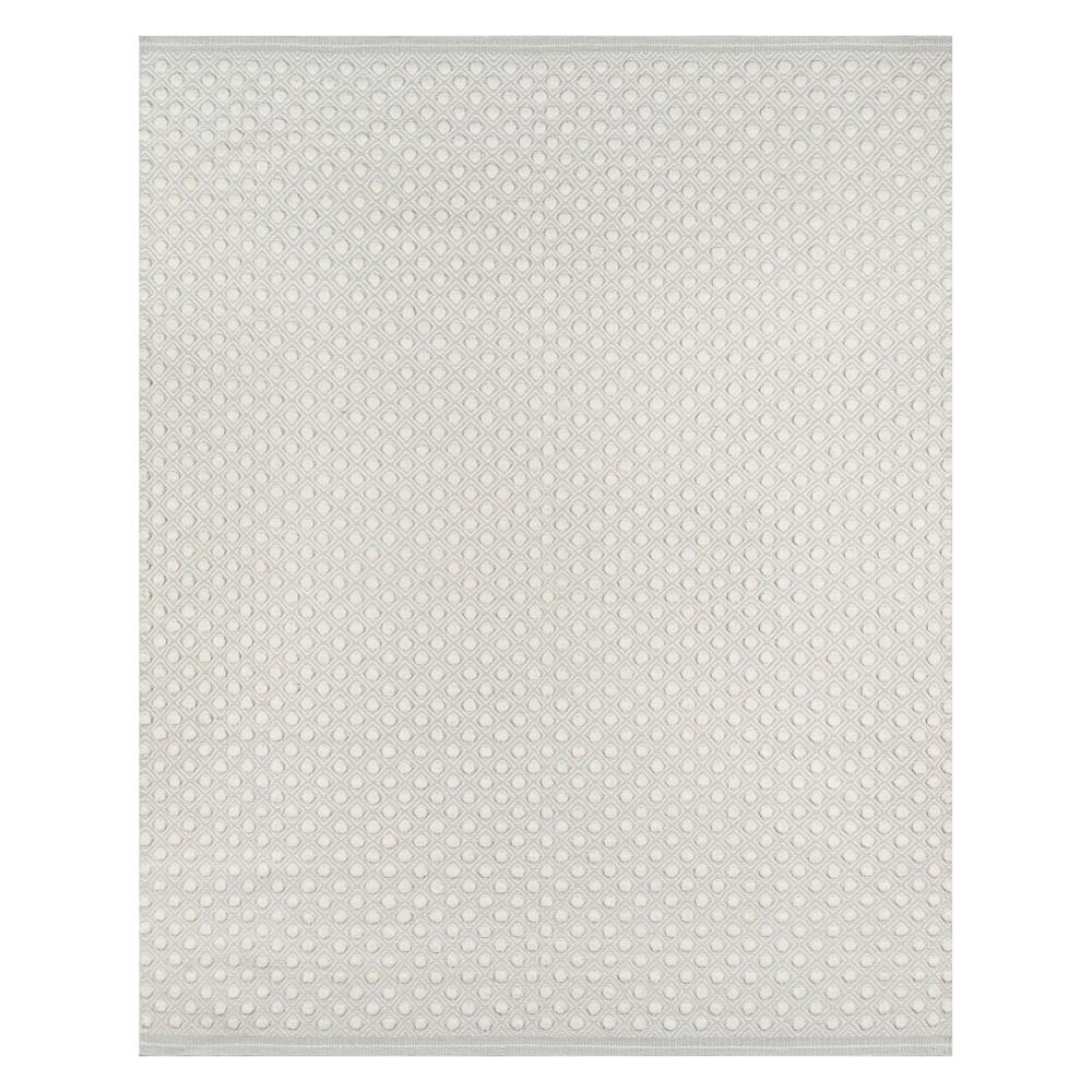 5'X8' Geometric Woven Area Rug Gray - Erin Gates By Momeni