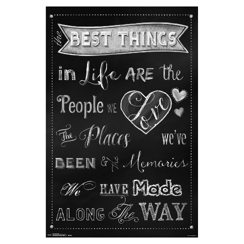 The Best Things Poster 34x22 - Trends International - image 1 of 2