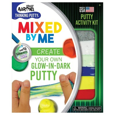 Crazy Aaron's Glow in the Dark Putty Mixed By Me Activity Kit