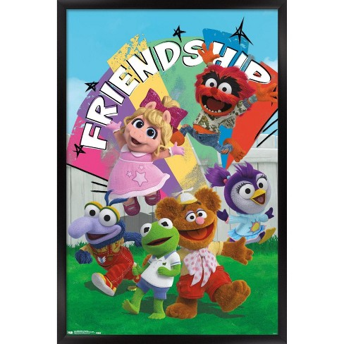 Trends International Disney Muppet Babies - Friendship Framed Wall Poster Prints - image 1 of 4