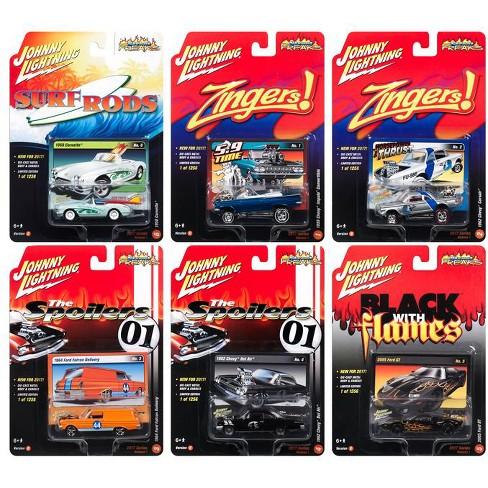 Street Freaks 2017 Release 1C Set of 6 cars 1/64 Diecast Model Cars by Johnny Lightning - image 1 of 2