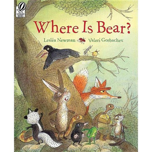 Where Is Bear? - by  Lesl�a Newman (Paperback) - image 1 of 1