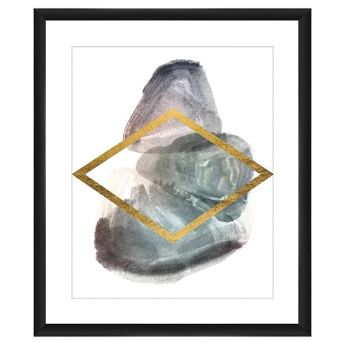 Gold Diamond 18X22 Wall Art : Target