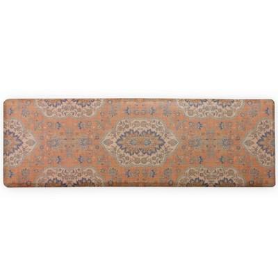 Persepolis Anti-Fatigue Comfort Long Floor Mat Orange - Brewster