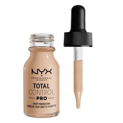 NYX Professional Makeup Total Control Pro Drop Foundation Skin-true buildable Coverage - 0.43 fl oz