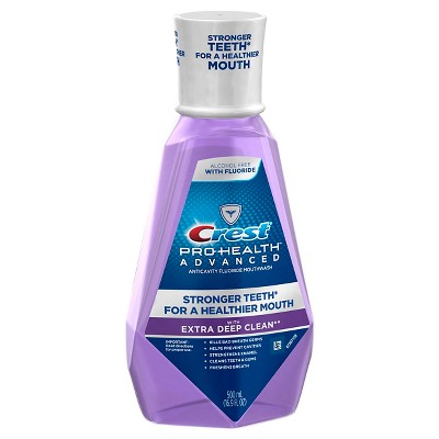 Mouthwash: Crest Pro-Health Advanced Extra Deep Clean