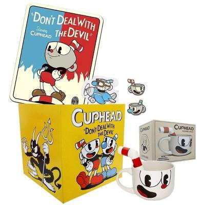 Toynk Cuphead Collectors LookSee Box | Throw Blanket | Pin | Mug
